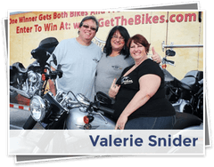 Valerie Snider, the 2011 Get the Bikes Giveaway Winner