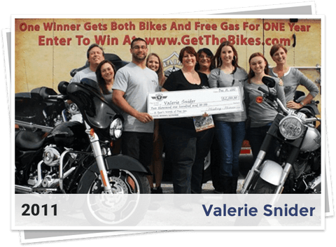 2011 Winners of Harley Davidson Giveaway