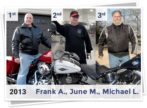 2013 Winners of Harley Davidson Giveaway