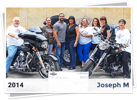 2014 Winners for Harley Davidson Giveaway