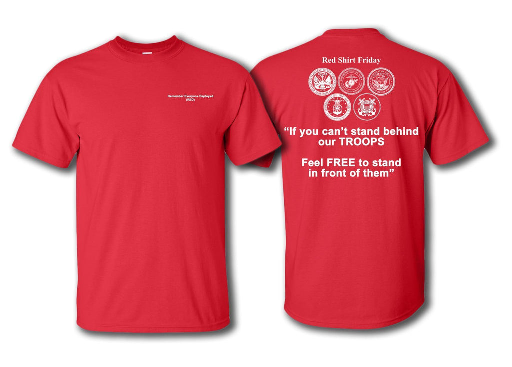 Red Friday T Shirts