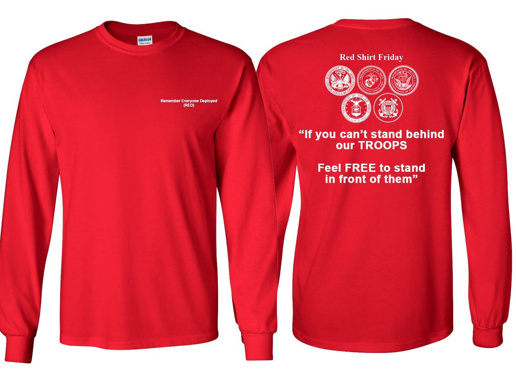 Red Friday Long Sleeve Shirt