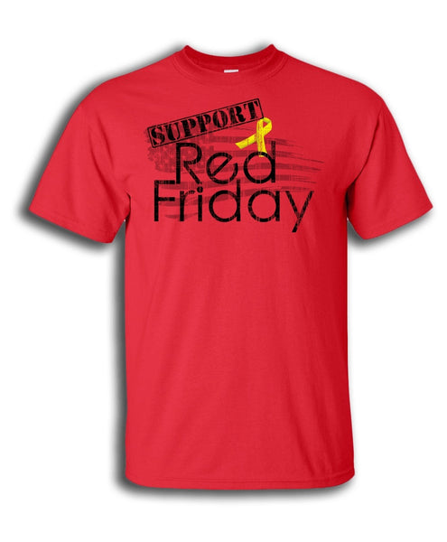 Support Red Friday T Shirt