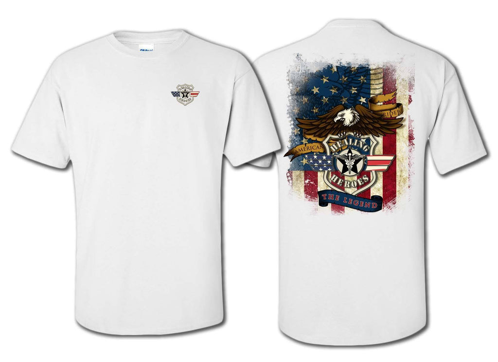 The Legend Military T-Shirt White