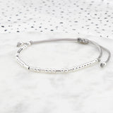 Morse Code 'Live, Laugh, Love' Bracelet