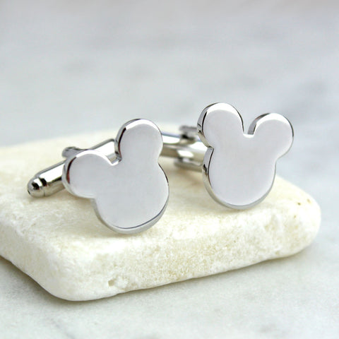 Mouse Ears Cufflinks