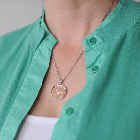 1940 80th Personalised Farthing Necklace