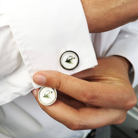 Personalised Fishing Cufflinks