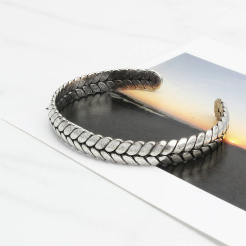 Stainless Steel Bicycle Tyre Bracelet