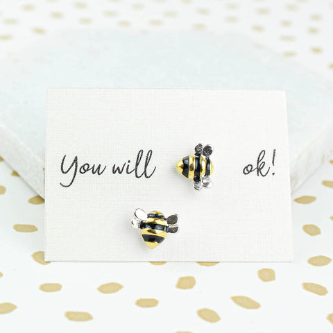 You Will Bee Ok Earrings