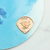 1951 70th Birthday Farthing Plectrum