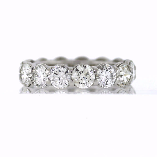 15 Round Brilliant = 5.60 Platinum Eternity Band BD0675