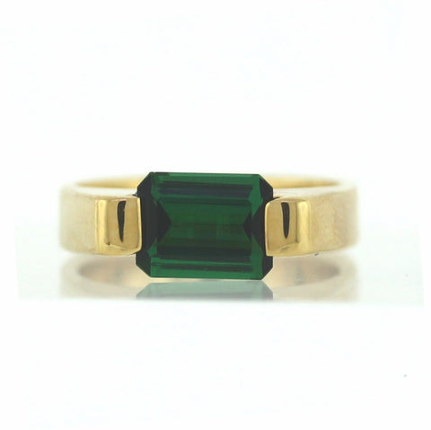 Estate 2.00ct Green Tourmaline 10.05gr