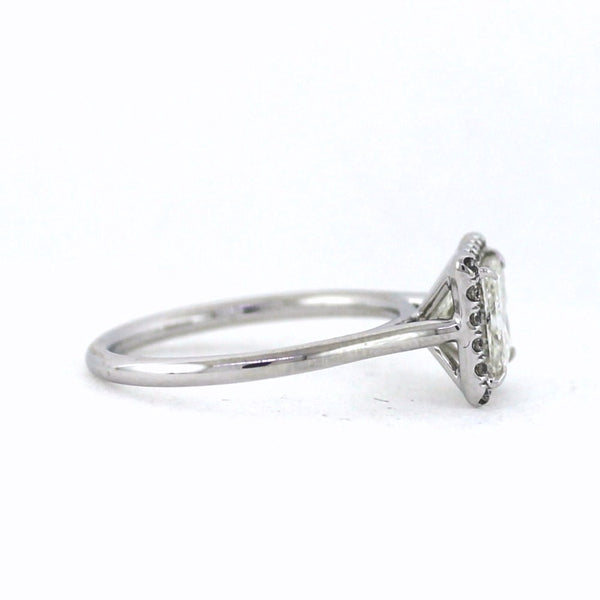 20 Round Brilliant Diamonds = 0.15ct G VS1 & 1.50 H SI2 EGL = 94024402D, 18K White Gold Lady's Ring LR3335, D17005