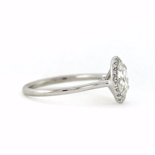 20 Round Brilliant Diamonds = 0.17ct G VS1 2.02 H SI2 AGS 18K White Gold Lady's Ring LR3398, D16003
