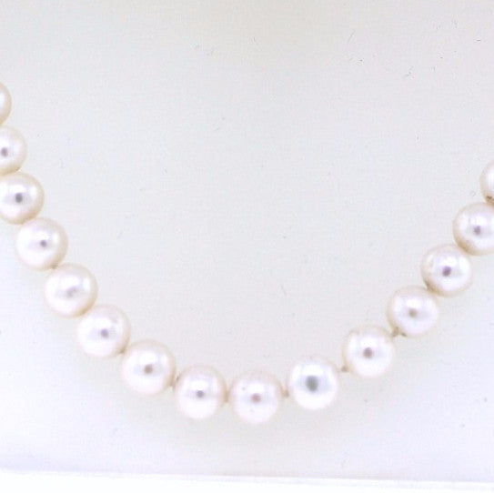 "Estate 8.5MM Pearls 16"" Necklace NK2111"