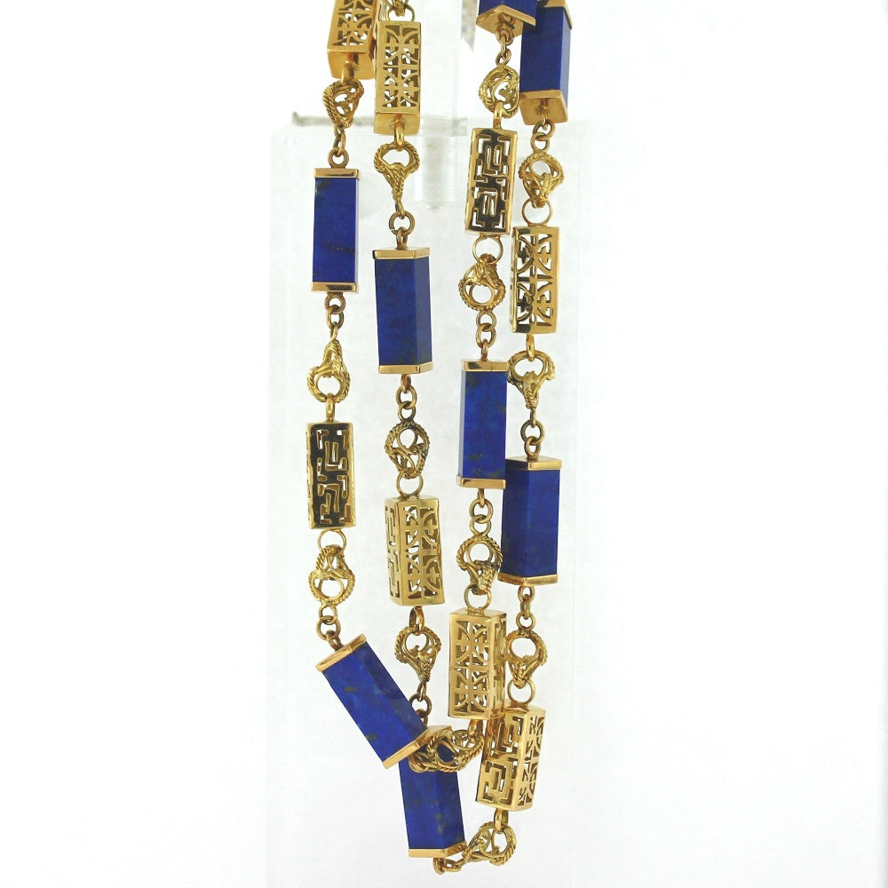necklace sapphire item ceylon estate collection shreve
