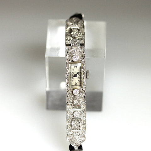 Nastrix & Co. Diamond watch 15.6gr, Platinum Watch WA0157