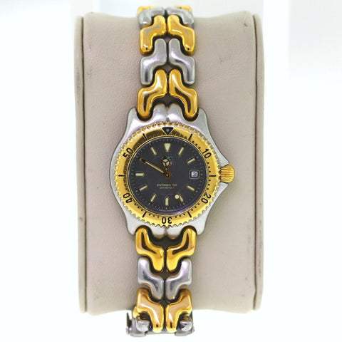 Estate Tag Heuer Professional 200 Meter 28mm WG1320 2 RR9630 Two-tone Box Only Stainless Steel WA0271