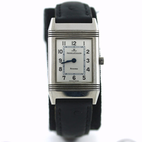 Estate Jaeger-Lecoultre Reverso 2059163 260808 Leather strap Deployant buckle Stainless Steel WA0507