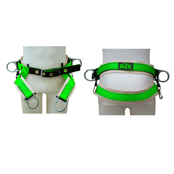 Fixed 4 D-Ring Single Cotton Back Saddle (No Leg Straps) - 1381