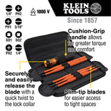 8-in-1 Insulated Interchangeable Screwdriver Set - (94-32288)