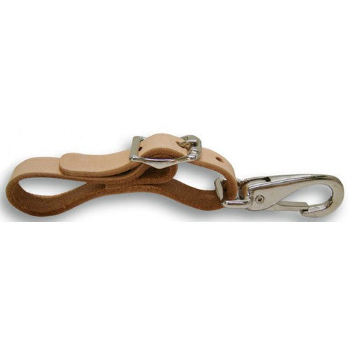 LEATHER ADJUSTABLE LOOP AND STRAP (41-341)