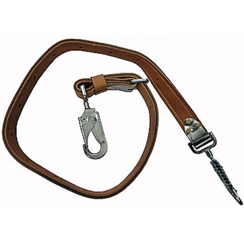 Buckingham 6' Leather Positioning Strap With Tongue Buckle - 366099E
