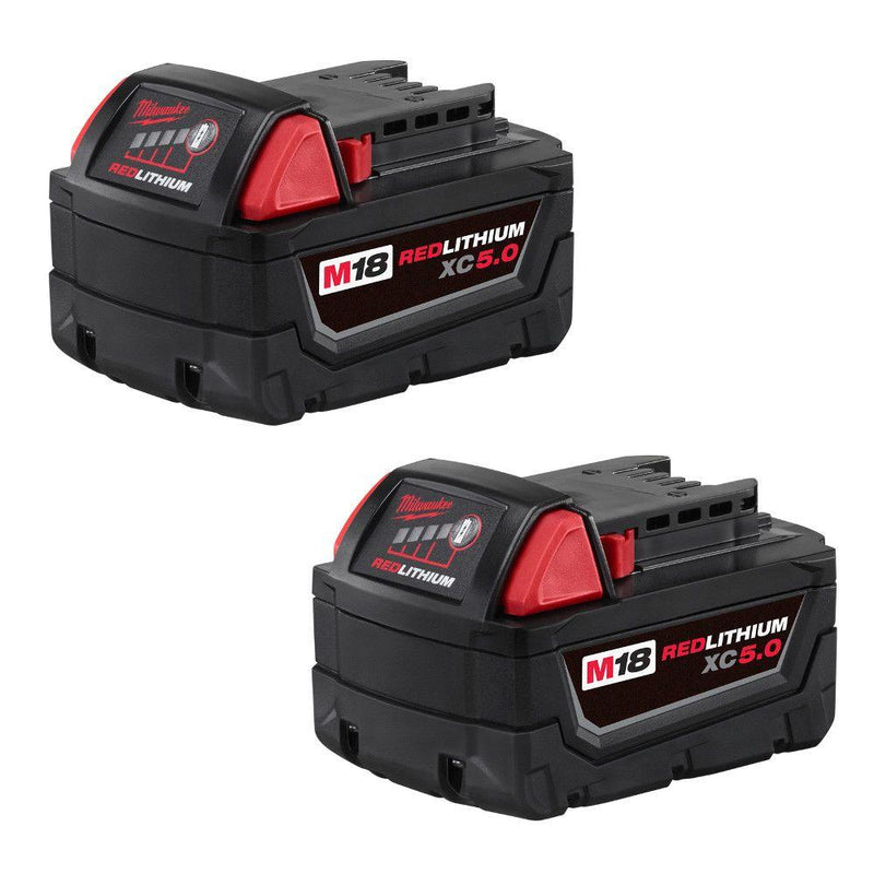 Milwaukee Extended Life 5.0a (2 pack) - (88-48111852)