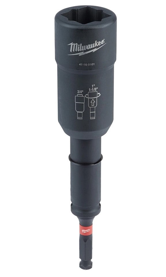 Milwaukee Lineman's 3 in 1 Distribution Utility Impact Socket - (88-49665101)