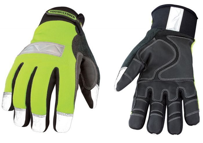 Youngstown Safety Lime Waterproof Winter Gloves(54-08371010)