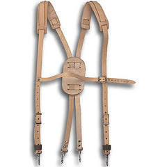 Buckingham Leather Suspenders (41-6258)
