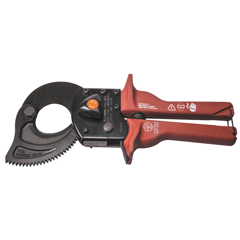 Klein Compact Ratcheting Cable Cutter (94-63601)
