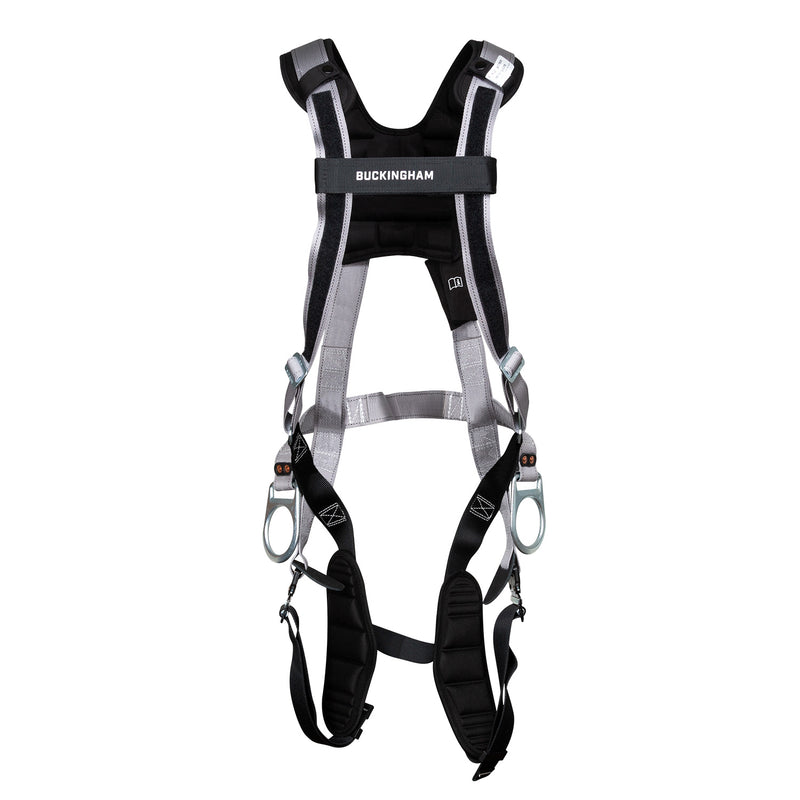 Mini BuckFit™ H-Style Full Body Harness with Positioning D-rings - 6398C700FK8