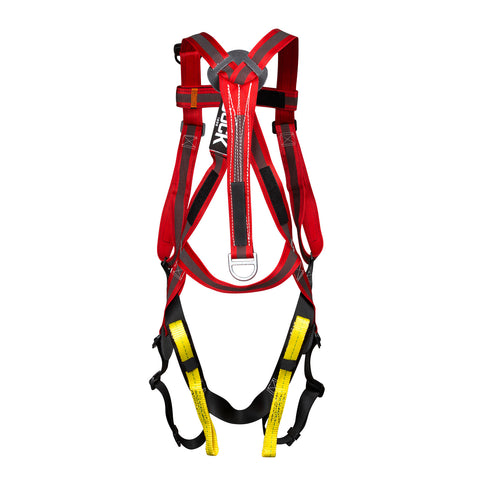 H Style Full Body Harness with Dorsal Pigtail - 639A3Q7