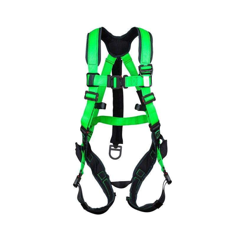 BuckOhm™ Dielectric H-Style Harness with BuckArrest™ Energy Absorbing Pack - 68L9EQ42