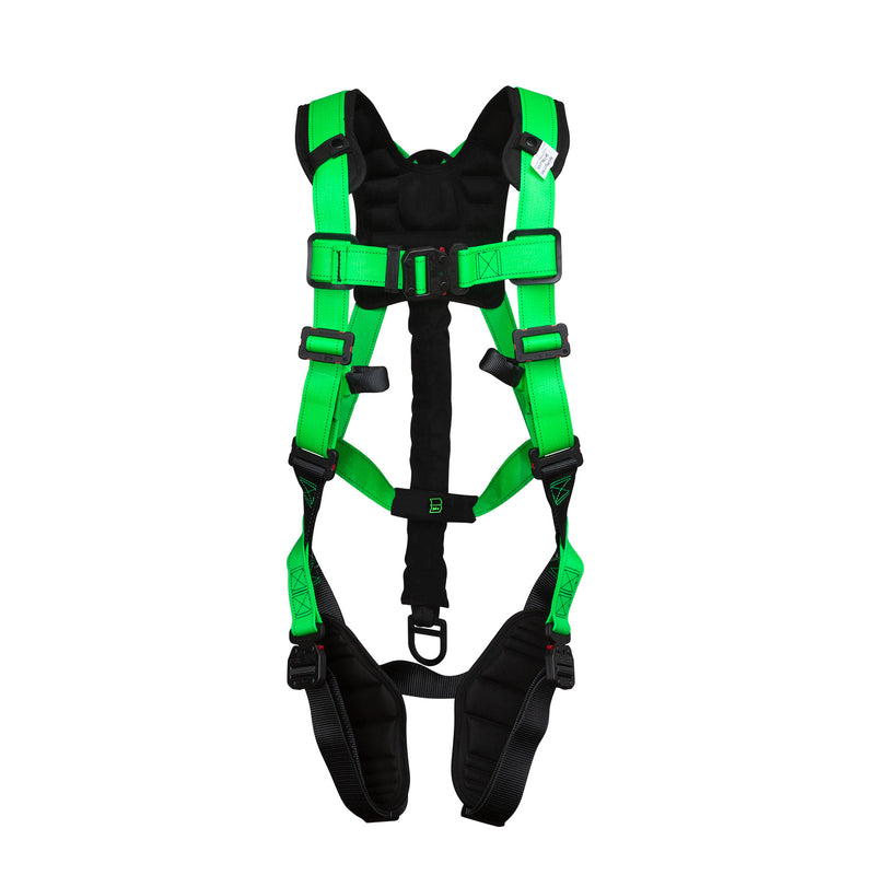 BuckOhm™ Dielectric H-Style Harness with BuckArrest™ Energy Absorbing Pack - 68L9EQ43
