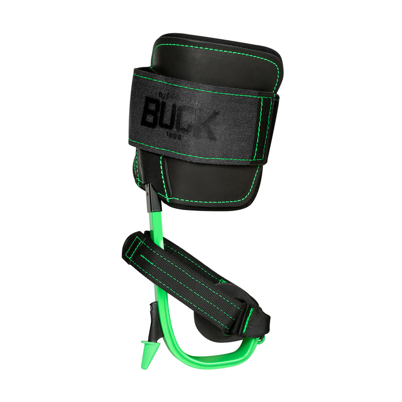 BuckAlloy™ Safety Green Tree Climber Kit with Big Buck™ Wrap Pads and Magnetic Gaff Guards - A95K2V-SG