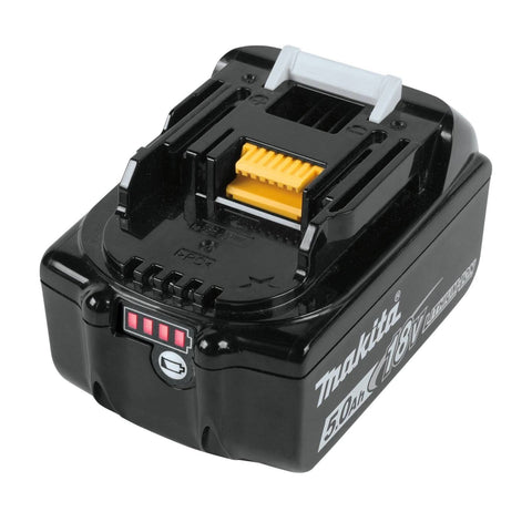 Makita 18V/5.0 Amp Hour LXT Lithium-Ion Battery Pack (2) - (68-BL1850B-2)