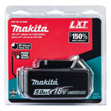 Makita 18V/5.0 Amp Hour LXT Lithium-Ion Battery - (68-BL1850B)