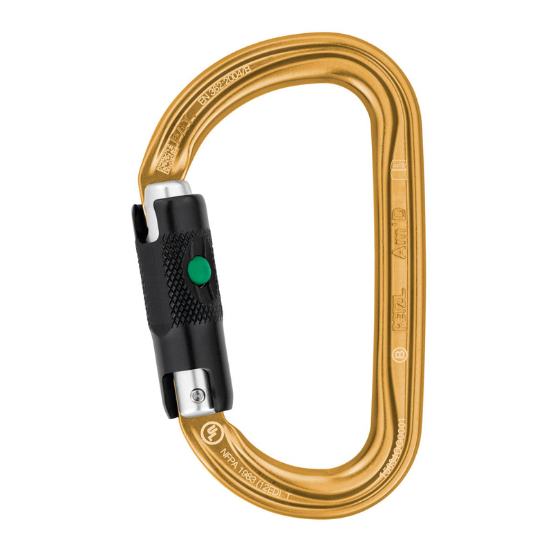 Am'D Ball Lock Carabiner - M34A BLY