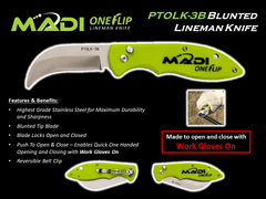 MADI Blunted Lineman Knife (95-PTOLK3B)