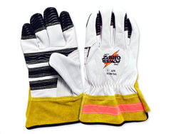 POWER GRIPZ-Rugged All-Leather Work Gloves (54-TPG-WG10B)