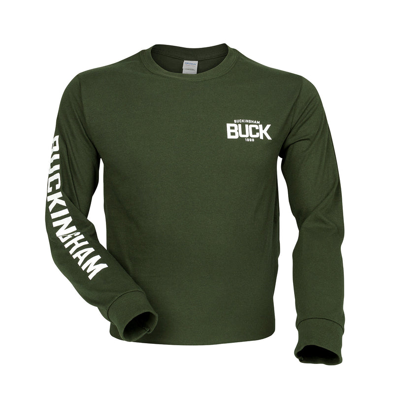 Buckingham Logo Long Sleeve Shirt - Shirt1