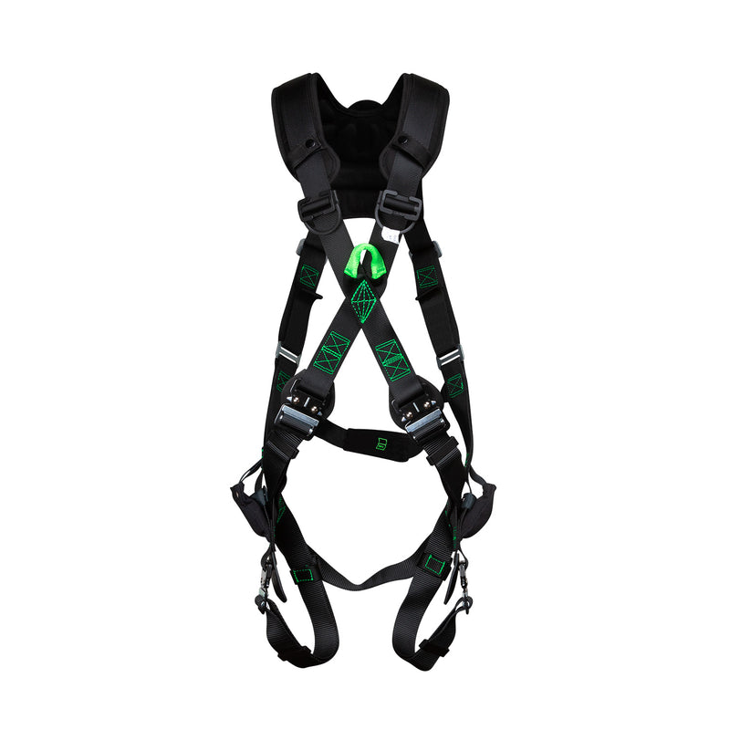 Economy TrueFit™ X-Style Harness with Steel Dorsal D-Ring - U603P8Q36