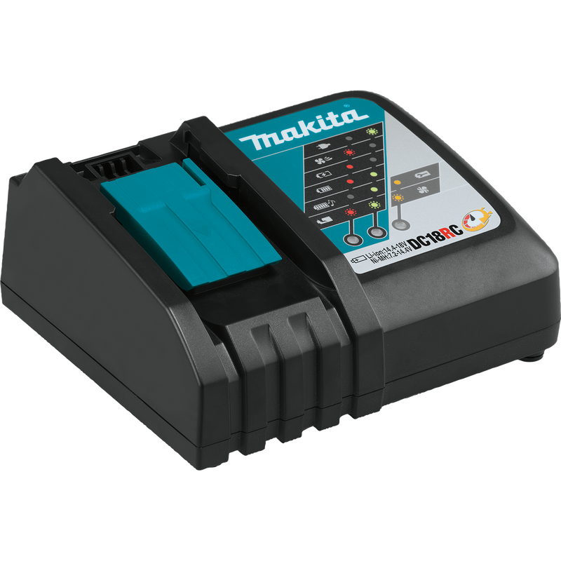 Makita 18V LXT Lithium‑Ion Rapid Optimum Charger (68-DC18RC)