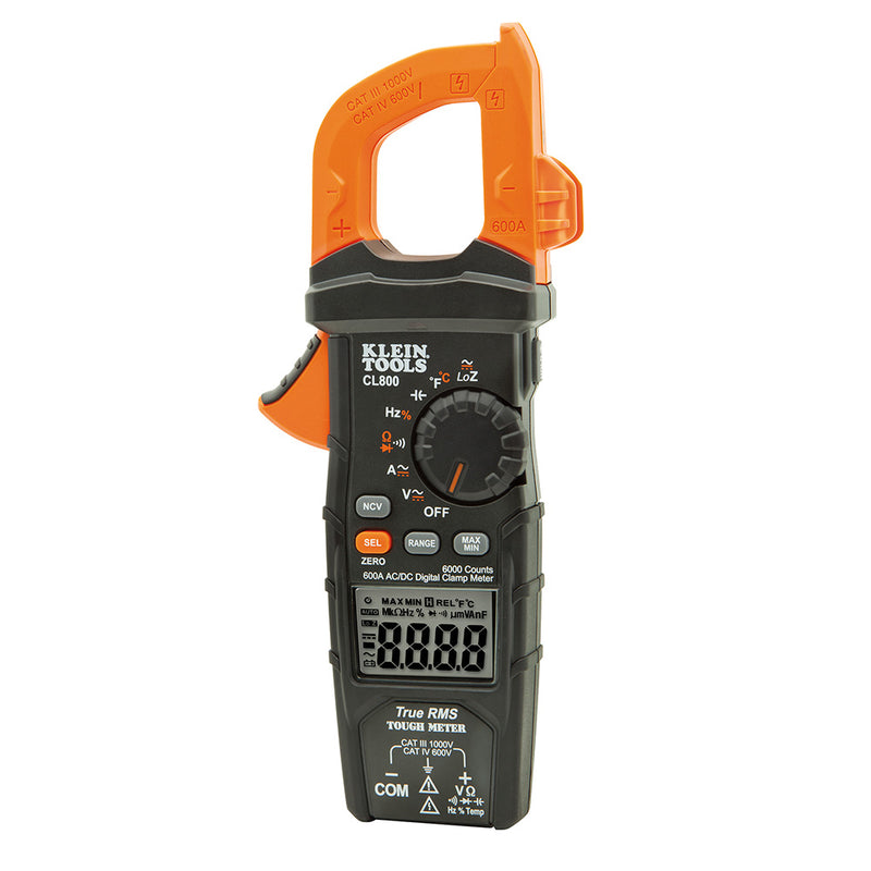 Klein Digital Clamp Meter AC/DC Auto-Ranging (94-CL800)