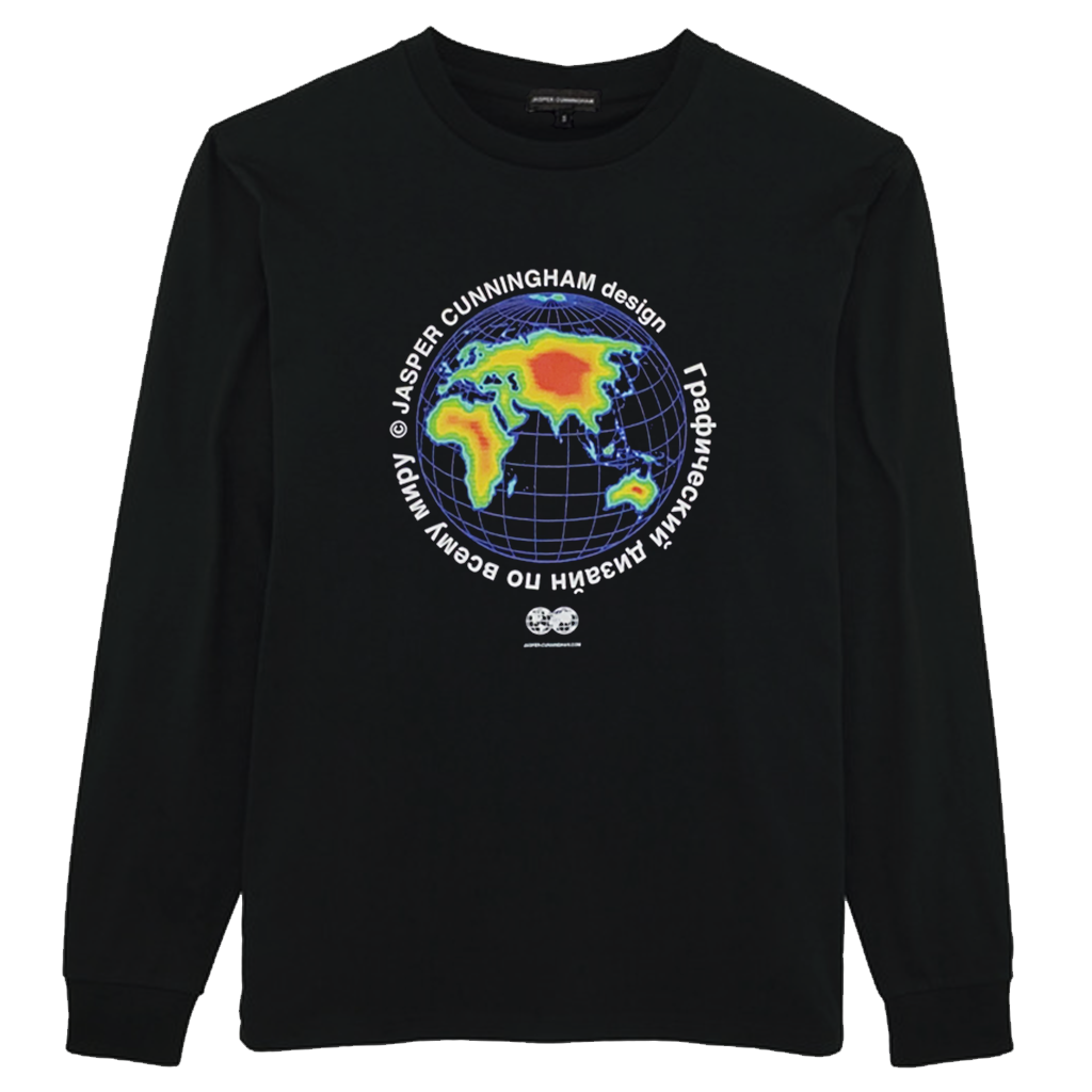 Global Heat map Long Sleeve T-Shirt
