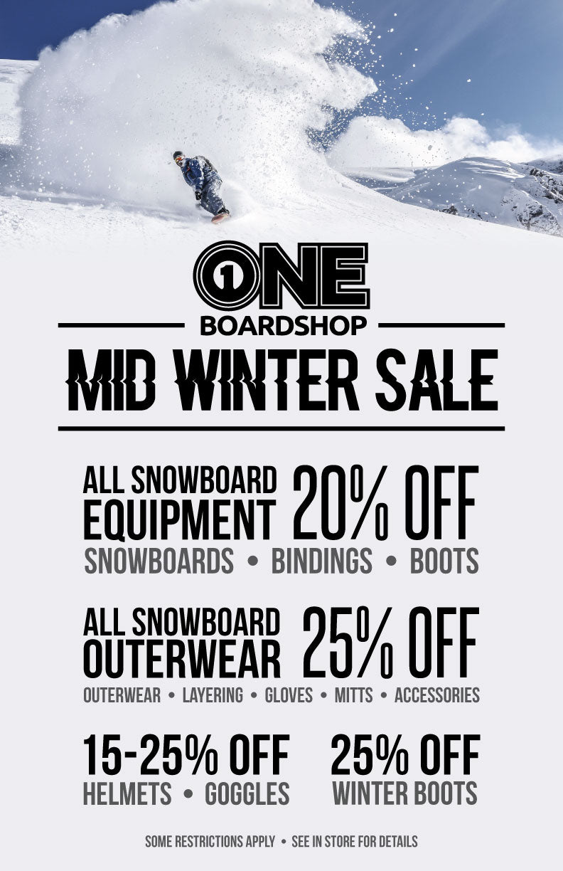 ONE Boardshop Mid Winter Sale