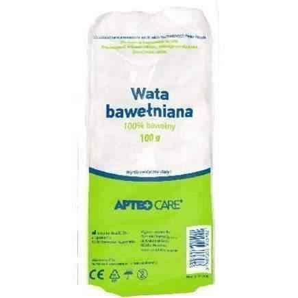 100 cotton APTEO Wata (Cotton wool) 100% cotton 100g - ELIVERA UK USA BUY, PRICE, REVIEWS